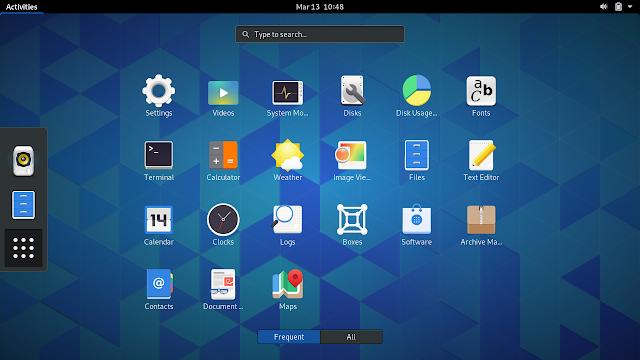 Novos recursos e aprimoramentos no GNOME 3.32